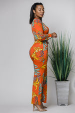 Orange Slice Jumpsuit