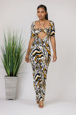 Enter The Wild Maxi Dress
