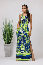 Hidden Temple Maxi Dress