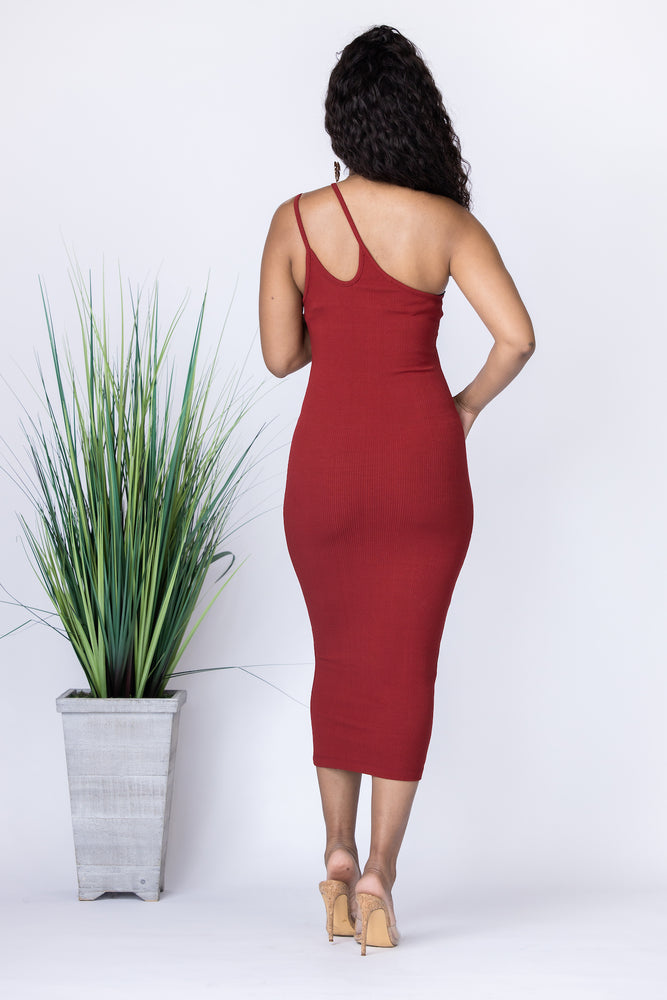 Double Sided Midi Dress
