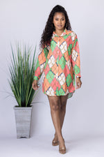 Checkmate Shirt Dress