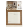 "Dolomite 19"" x 19"" Semi Polished Square Porcelain Board"