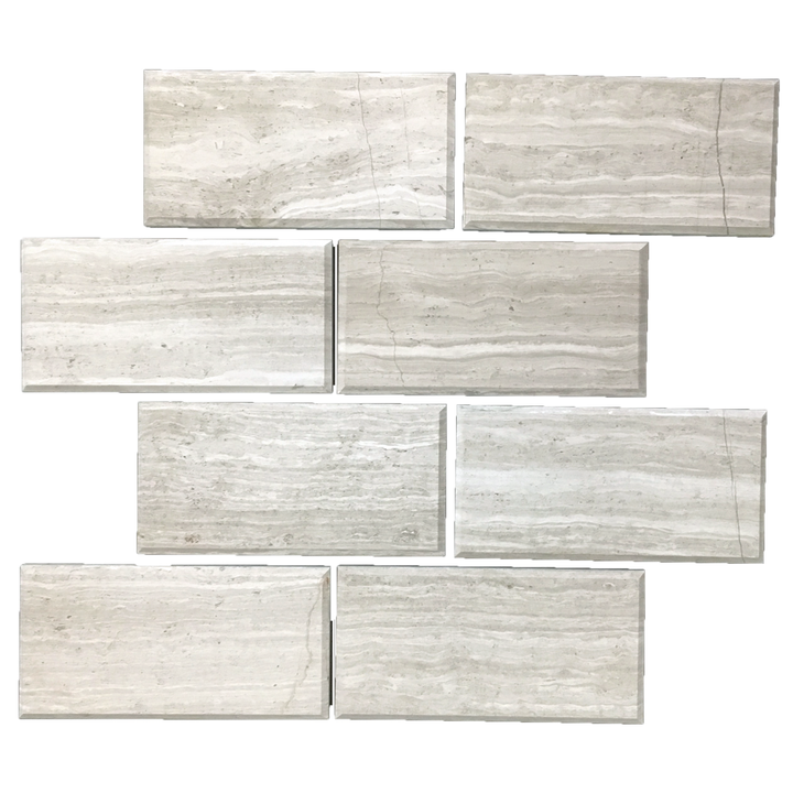 "Beachwood 3"" x 6"" Vein Cut Honed - Elon Tile"