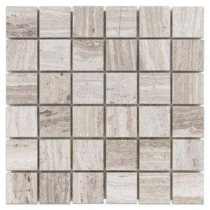 "Beachwood 2"" x 2"" Vein Cut Mosaic Honed - Elon Tile"