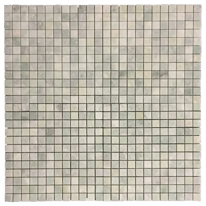 "Ming Green 1"" x 1"" Mosaic Honed (1 sf) - Elon Tile"