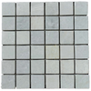 "**DISCONTINUED** Ming Green 2"" x 2"" Mosaic Tumbled (1 sf) - Elon Tile"