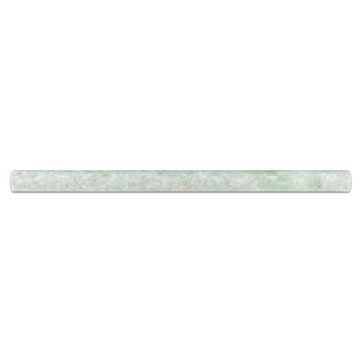 "Ming Green 3/4"" x 3/4"" x 12"" Pencil Molding Honed - Elon Tile"