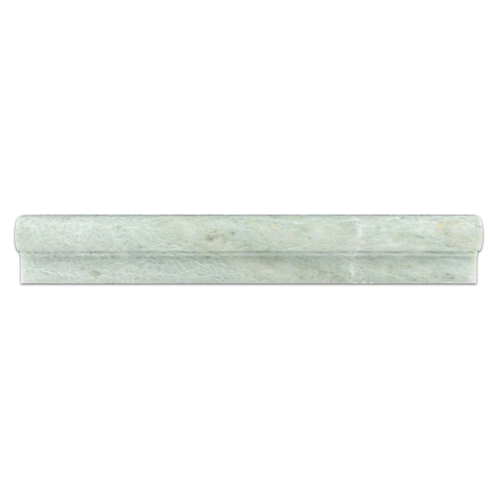 "**LIMITED STOCK** Ming Green 2"" x 12"" Ogee Molding Polished - Elon Tile"