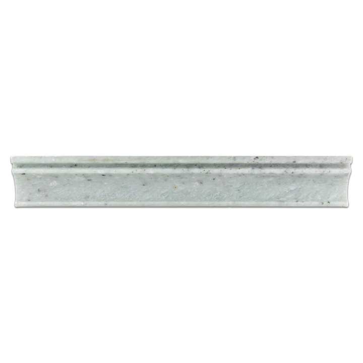 "Ming Green 2"" x 12"" Capital Molding Honed - Elon Tile"