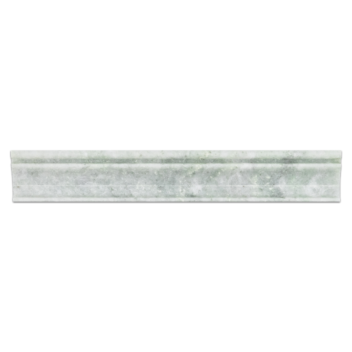 "Ming Green 2"" x 12"" Capital Molding Polished"
