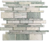 Ming Green Multi-Width Mosaic Polished (1.07 sf)