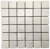 "Bianco Carrara 2"" x 2"" Mosaic Tumbled (1 sf) - Elon Tile"
