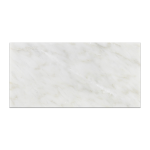 "Pearl White 6"" x 12"" Honed - Elon Tile"