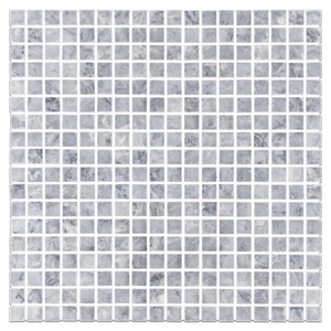 "Pacific Gray 5/8"" x 5/8"" Mosaic Honed (1 sf) - Elon Tile"