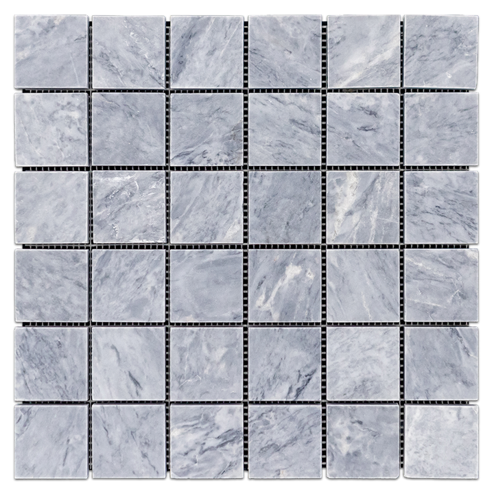 "Pacific Gray 2"" x 2"" Mosaic Honed (1 sf)"