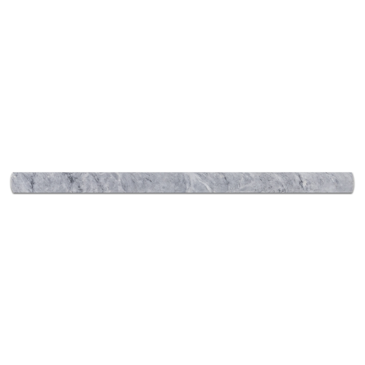 "Pacific Gray 3/4"" x 3/4"" x 12"" Pencil Molding Polished - Elon Tile"