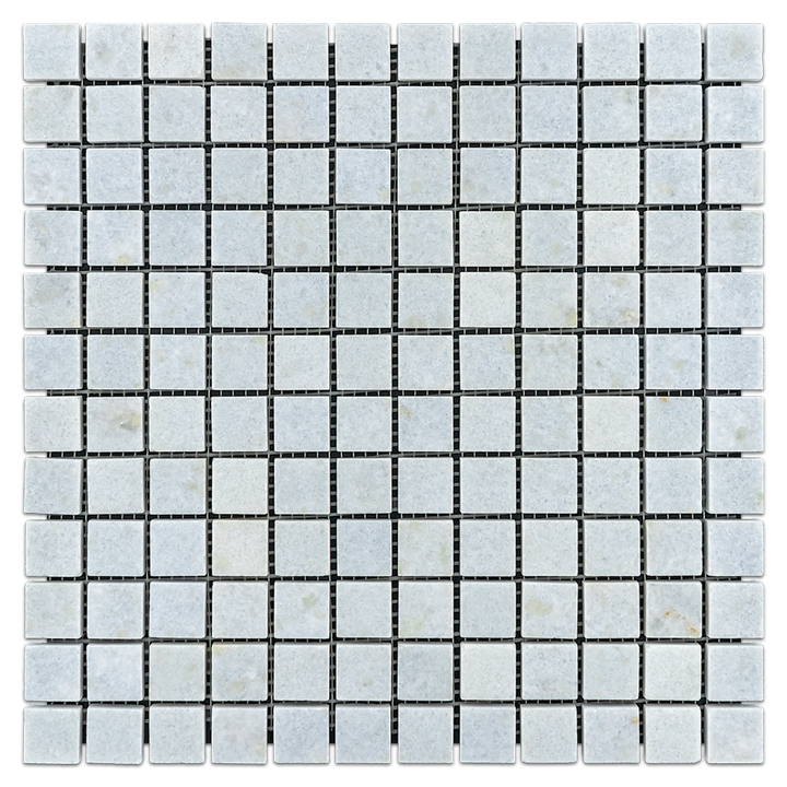 "Blue Celeste 1"" x 1"" Mosaic Polished - Elon Tile"