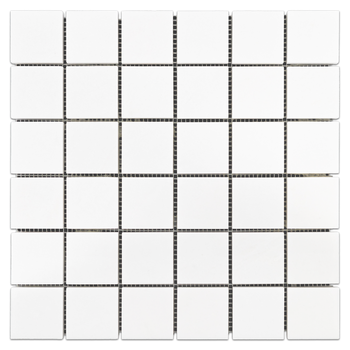 "White Thassos 2"" x 2"" Mosaic Polished - Elon Tile"