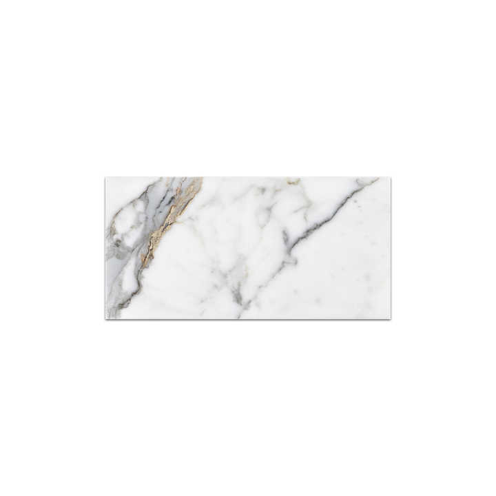 "Calacatta Gold 3"" x 6"" Polished (Packed @ 40) - Elon Tile & Stone"