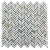 Micro Herringbone Calacatta Honed (1.03 sf) - Elon Tile