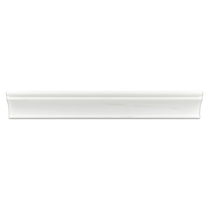"Dolomite 2"" x 12"" Capital Molding Honed - Elon Tile"