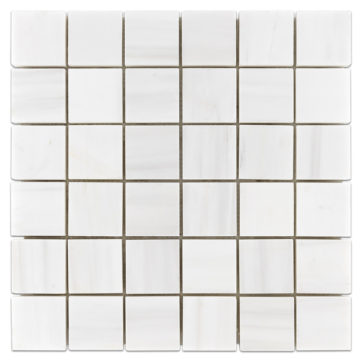 "Dolomite 2"" x 2"" Mosaic Honed (1 sf) - Elon Tile"