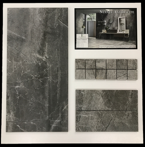 Nuance Anthracite Display Board - Elon Tile