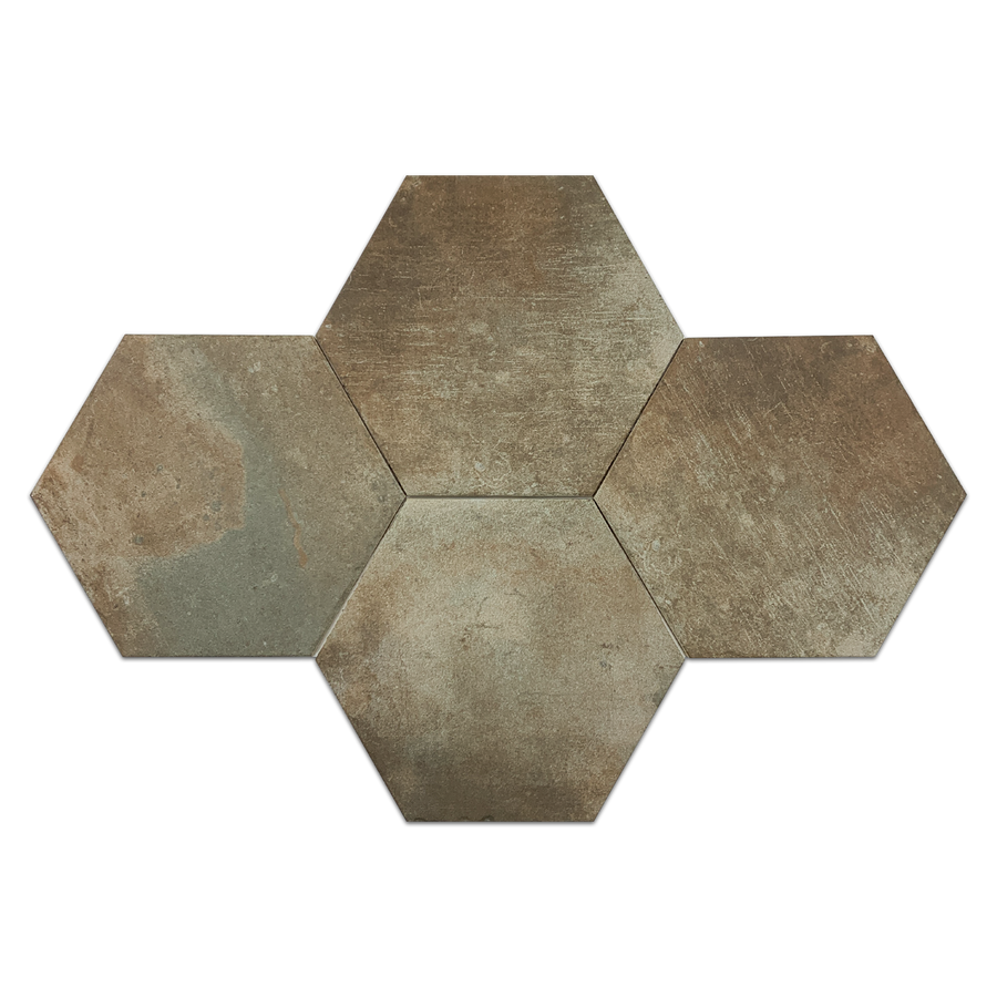 "**LIMITED STOCK** West Boston Hexagon 11.2"" x 12.7"" - Elon Tile & Stone"