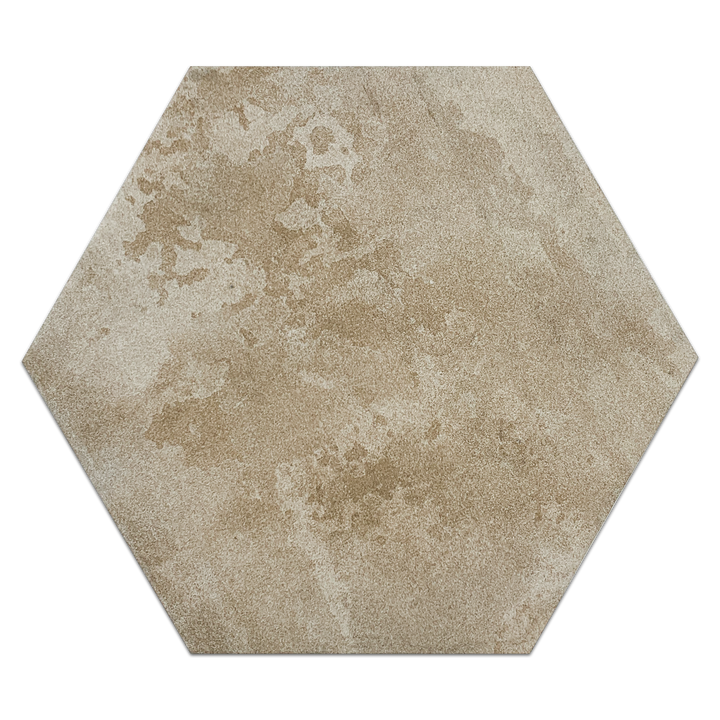 "Downtown Boston Hexagon 11.2"" x 12.7"" - Elon Tile"