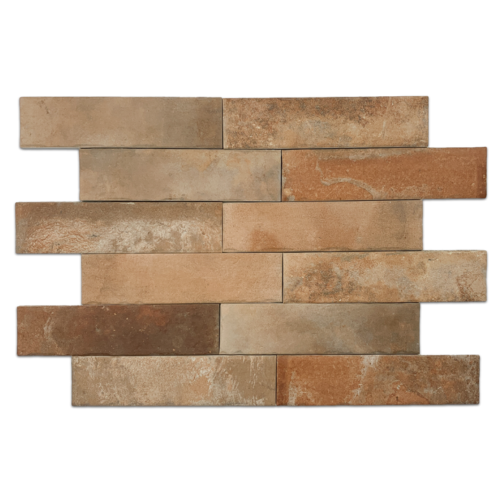 "**LIMITED STOCK** North Boston Brick 2.5"" x 10"" - Elon Tile"