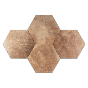 "South Boston Hexagon 11.2"" x 12.7"" - Elon Tile"