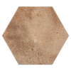 "Boston Brick (South) Porcelain Tile 11.2""X12.7"" Hexagon - Elon Tile"