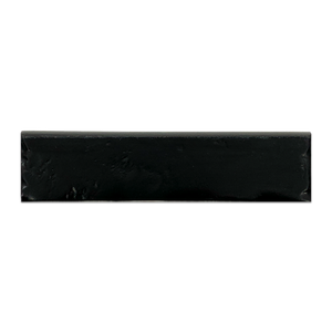 "Night Boston Half Round Bullnose 2.5"" x 10"" - Elon Tile"