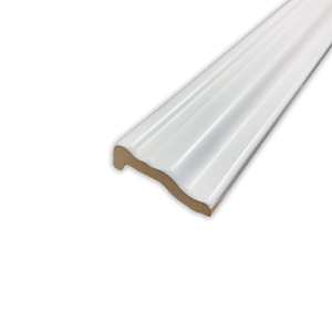 "Hampton White 2"" x 12"" Chair Rail Molding Matte - Elon Tile"