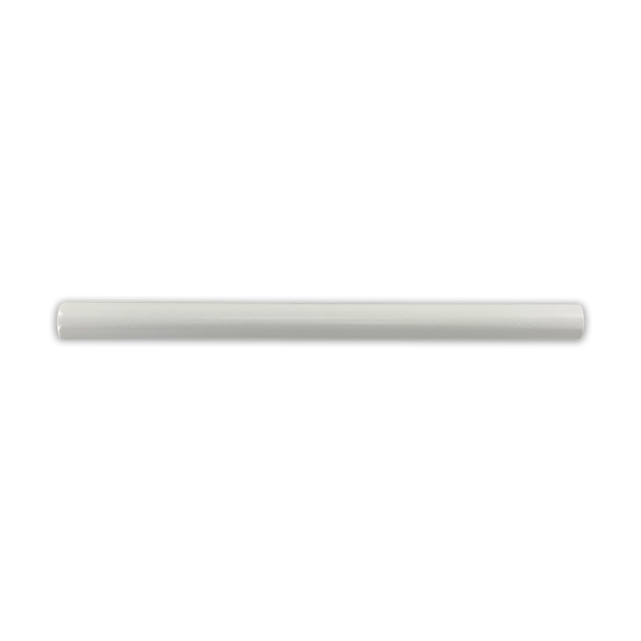 Hampton White Pencil Molding Matte - Elon Tile