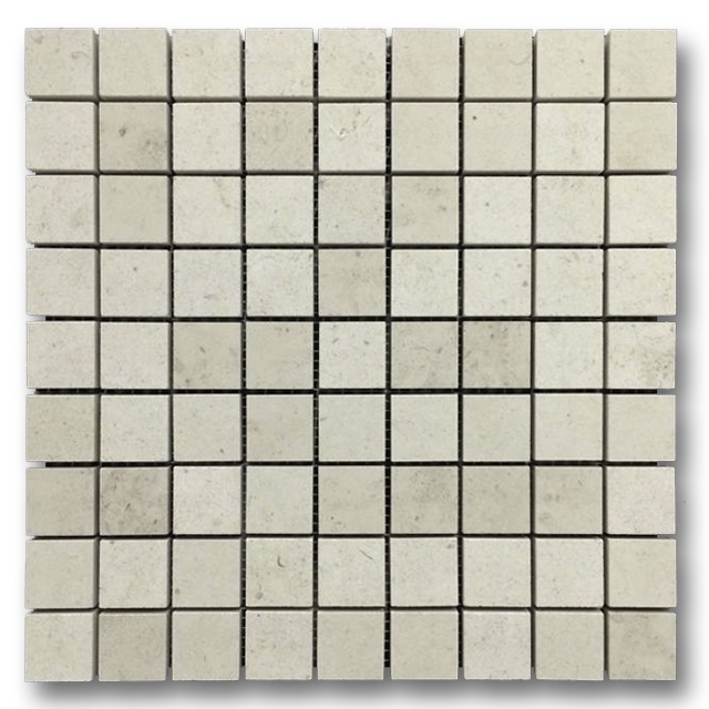 "**LIMITED STOCK** Chateau De Sable 1 1/4"" x 1 1/4"" Mosaic Honed - Elon Tile"