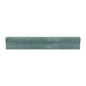 "Opal Turquoise 2"" x 12"" Chair Rail - Elon Tile"