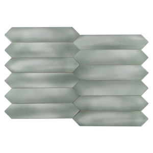 "Optics Jade 2.6"" x 13"" Picket Glossy - Elon Tile"