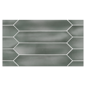 "Optics Board Collection - CTB220 - Optics Jade 2.6"" x 13"" Picket Glossy Board - Elon Tile"
