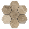 "Durango 5"" Hexagon Mosaic Honed & Filled (1.08 sf)"
