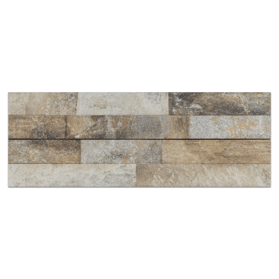 Ledgestone Porcelain Board Collection - LPB102 - Ordino Beige Ledgerstone Porcelain Board - Elon Tile