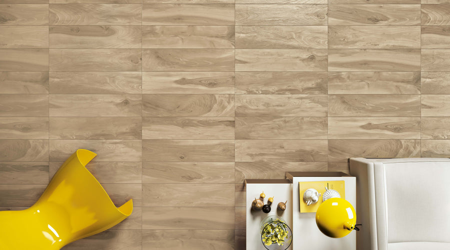 "**LIMITED STOCK** Larice 8"" x 48"" Wood Porcelain - Elon Tile"