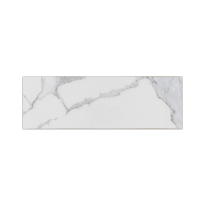"Nuance Calacatta 4"" x 12"" Semi Polished - Elon Tile"