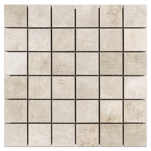 "Nuance White Shell 2"" x 2"" Honed - Elon Tile"
