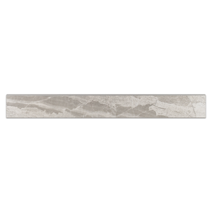 "Nuance Grey 3"" x 24"" Bullnose Semi Polished - Elon Tile"