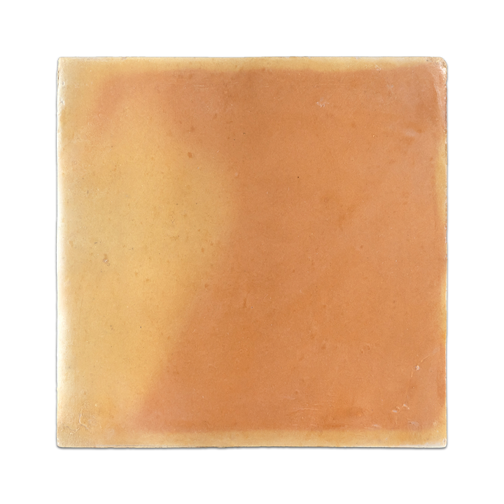 "Saltillo Terra Cotta 8 1/2"" x 8 1/2"" Clear Semi Gloss - Elon Tile"