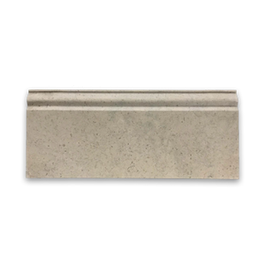 "**LIMITED STOCK** Ville Sur Mer European Limestone 5"" x 12"" x 3/4"" Base Molding Honed - Elon Tile"