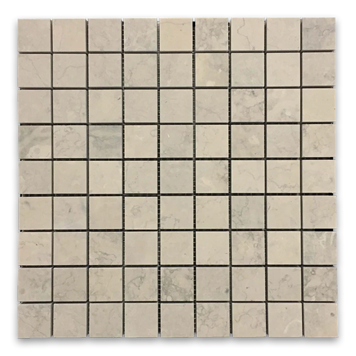 "**LIMITED STOCK** Quartier Parisien 1 1/4"" x 1 1/4"" Mosaic Honed (0.96 sf) - Elon Tile"
