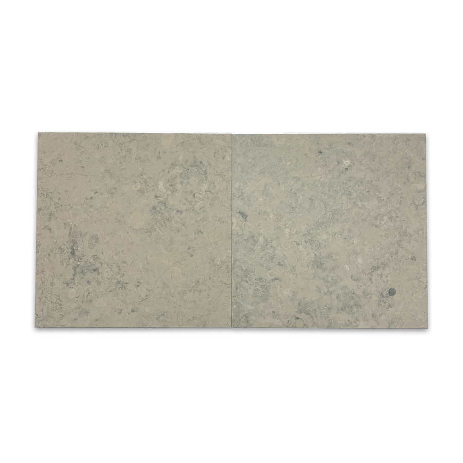 "**LIMITED STOCK** Quartier Parisien European Limestone 16"" x 16"" Honed - Elon Tile"