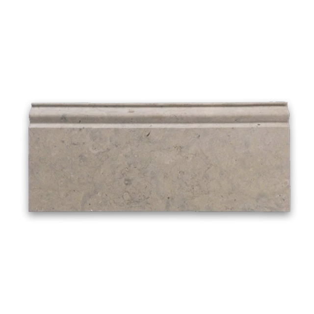 **LIMITED STOCK** Quartier Parisien European Limestone Base Molding Honed - Elon Tile